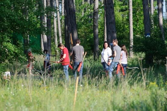 Bogenschießen im Erlebnispark Gänserndorf