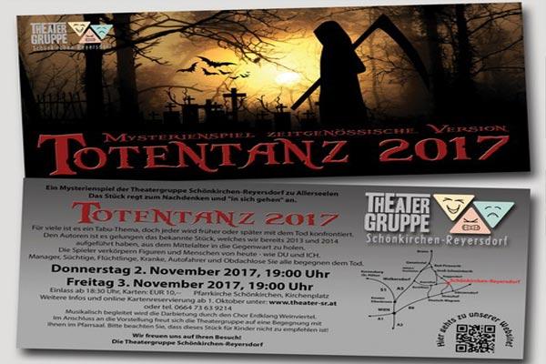 Totentanz 2017 – Theatergruppe Schönkirchen-Reyersdorf