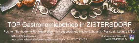 Gastronomiebetrieb Ausschreibung Inserat 2019