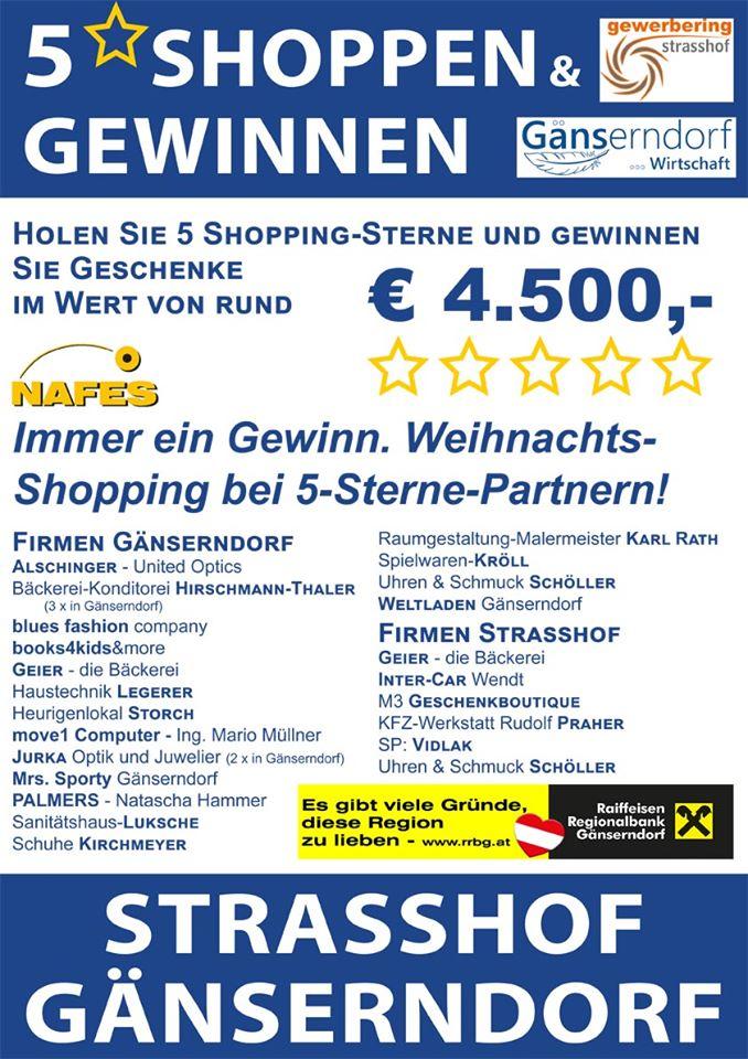 5-Sterne-Shopping