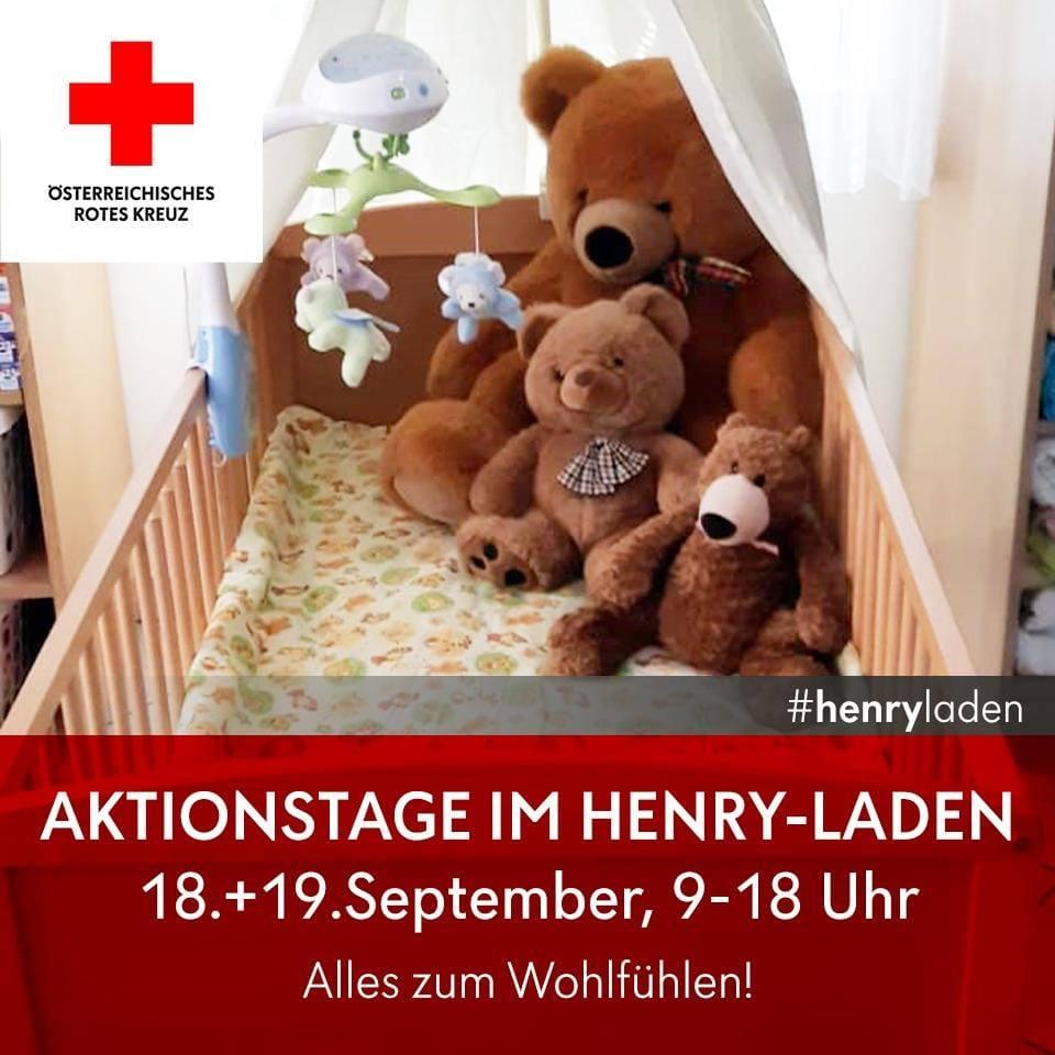 Aktionstage – Henry-Laden zum Wohlfühlen