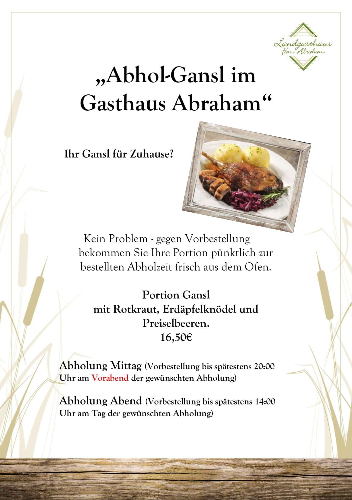 Gasthaus Abraham