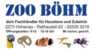 © Zoo Böhm Tierhandlung